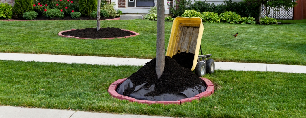 Choose the right amount of mulch for your project
