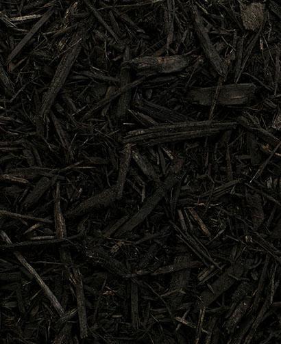 Black mulch, pine mulch