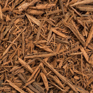 golden mulch, dyed pine mulch
